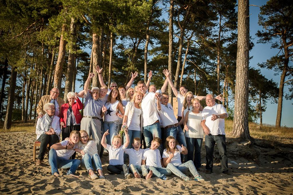Groepsfoto Huwelijksaanzoek