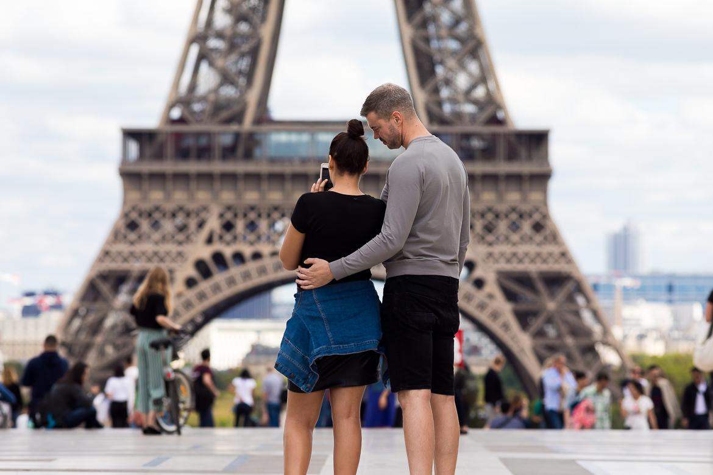 Fotoshoot Parijs