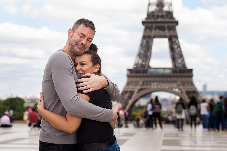 Huwelijksaanzoek Parijs