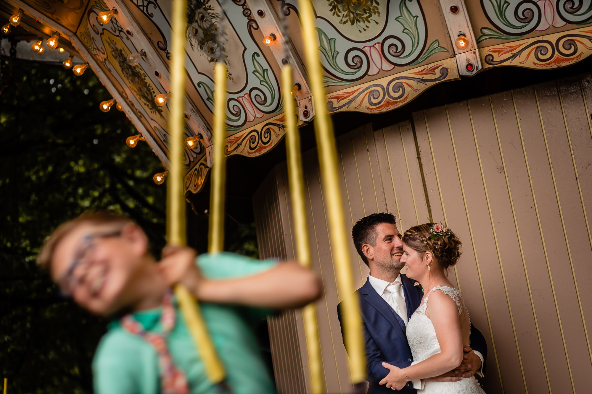 draaimolen bruiloft