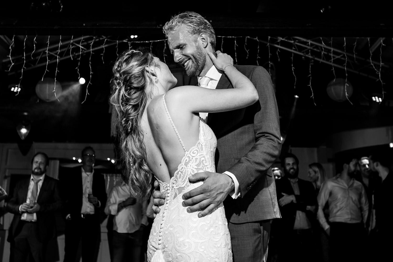 Openingsdans bruid en bruidegom